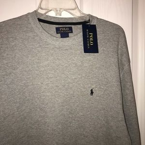 Men's Polo thermal long sleeve